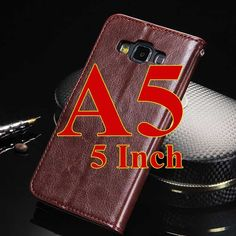 Wallet Case For Samsung Galaxy A5 2016 / A5 / A7 2016 Broncos PU Leather Flip Cover With Card Holders Coque Phone Bag Capinha