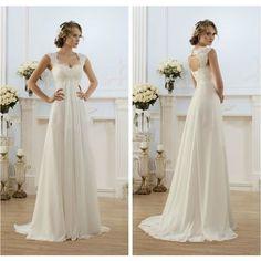 ROBE DE MARIÉE Mariage grecque Robe Robe de mariée mariage vestimentaire décontracté extérieur robe de mariée