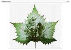 Gallery.ru / Фото #129 - Большие, но очень красивые монохромные схемы - Olgakam