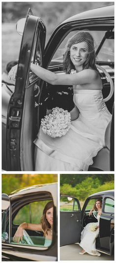 bridal photography, bridal portraits, bridal picture, bride images, furniture in a field, nature, pink settee, pink furniture, beautiful, backlight, hydrangeas, bride, white gown, stunning, ideas, vintage, antique, rent my dust, unique, old car, black car