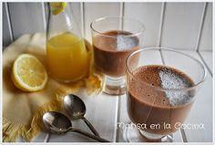 Marisa en la Cocina: Mouse de Chocolate con Leche y Cítricos