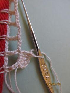 Filomena Crochet e Outros Lavores: - Barrado de Crochet - Tutorial