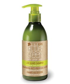 Look at this #zulilyfind! Lice Guard Shampoo by Little Green #zulilyfinds