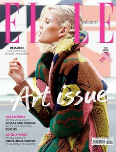 "awesome Elle México Outubro 2014 | Jennifer Pugh ""Art Issue"" [Capa]"