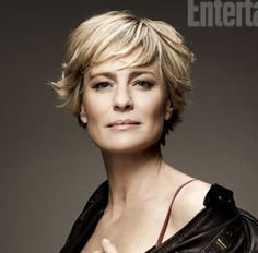 Robin Wright.  Born April 8, 1966 Dallas, TX. (previous spouse: Sean Penn 1996–2010. 2 kids)