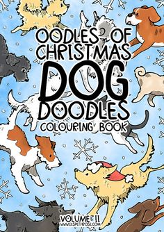 New for Christmas 2016  This gorgeous A4 Christmas colouring book features 21 individual B&W colouring pages, ready to be coloured. Different breeds throughout!  The paper quality is fantastic, you can paint, ink, scribble, draw - no bleeding through the page. Each image is printed single sided. **ORDERS OUTSIDE THE EUROPEAN UNION PLEASE READ** If ordering more than 3 books please message prior to purchase for an accurate postage quote.  Copyright Elspeth Rose Follow me on Facebook for more…
