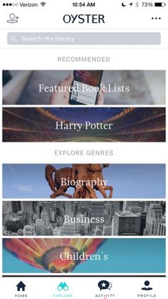 Oyster – Read Unlimited Books Screenshots