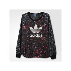 adidas Moscow Printed Crew Sweatshirt ($75) ❤ liked on Polyvore featuring tops, hoodies, sweatshirts, red, sweatshirts hoodies, crew sweatshirt, sweatshirt pullover, print sweatshirt and adidas sweatshirt