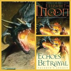 #photoadayMAY - day 16: what you're reading ~ Echoes of Betrayal (bk 3 in the Paladin's Legacy trilogy) by Elizabeth Moon. Read The Deeds of Paksenarrion trilogy first ;)