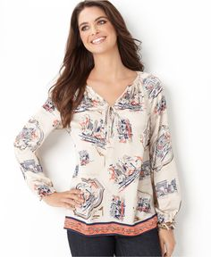 Miriam Embroidered Peasant Blouse 84