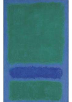Green, blue and deep blue