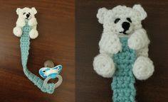 bear pacifier leash