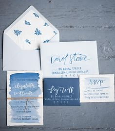 Delft Blue Garden Wedding Styled Shoot  | Charleston, SC