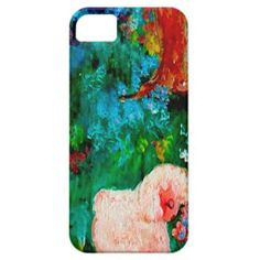 Lamb Smelling the Flowers iPhone 5/5S Case Exquisitely gorgeous, you will LOVE our decorative Stunning Whimsical Designer Art Flower iPhone Cases featuring a stunning color palette inspired by the lush gardens of the English Country side. The PERFECT GIFT! Our Magnificent Whimsical Designer Art Floral iPhone Cases are designed by artist Marie Jose Pappas of Innocent Originals.