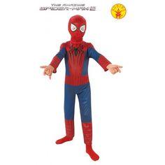 Disfraz de Spiderman oficial y con licencia Marvel para niño, los superheroes es un disfraz que le encanta a todos los niños. Este disfraz viene  de una pieza y con mascara. El disfraz de spiderman es perfecto para regalar y acertar seguro. http://www.disfracessimon.com/disfraces-superheroe-infantil/3868-disfraz-de-spiderman-oficial-marvel-para-nino.html