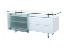WH Ema buffet in white lacquer