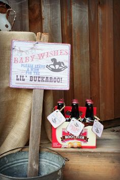 """Photo 13 of 14: Western/Cowboy / Baby Shower/Sip & See """"Lil' Buckaroo Baby Shower""""   Catch My Party"""