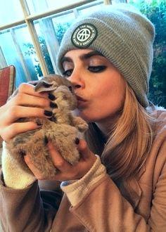 Cara Delevingne ♥ Bunny Cecil