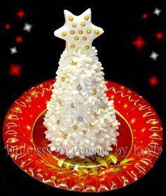 Albero di Natale – Christmas Tree, tutorial pasta di zucchero