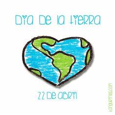 Día Internacional de la Madre Tierra, aprendamos a querer, respetar y cuidar de nuestro planeta como se merece. Cada gesto, por pequeño que sea, cuenta.  #diadelatierra #tierra #earthday #earth #diainternacionaldelatierra #piensaenverde