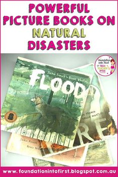 Powerful picture books on natural disasters. Use illustrated texts to engage elementary students in History English Language Arts Science and Visual Arts. Ideas for teachers for engaging primary students. Elementary Science, Teaching Science, Life Science, Teaching Resources, Teaching Ideas, Social Studies Classroom, Social Studies Activities, Science Activities, Steam Activities