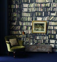 Deborah+Bowness+books+wallpaper.jpg 458×500 pixels