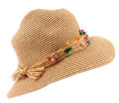 """Palarie """"Natural straws"""" - Meli Melo - Paris Meli Melo, Straws, Crochet Hats, Paris, Natural, Summer, Collection, Fashion, Knitting Hats"""