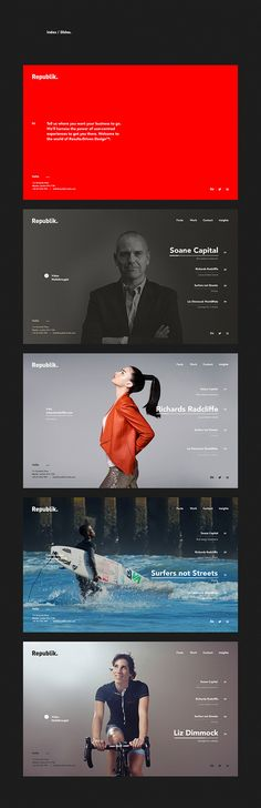 Republik Media - London based Digital Agency on Behance