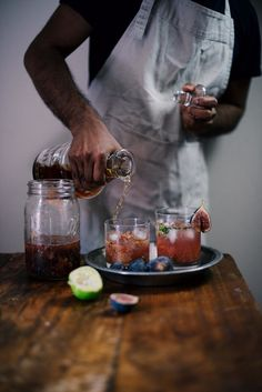 fig and bourbon summer smash | A Brown Table