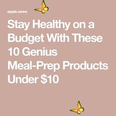 Stay Healthy on a Budget With These 10 Genius Meal-Prep Products Under $10 Stay Healthy on a Budget With These 10 Genius Meal-Prep Products Under $10<br> Stay Healthy on a Budget With These 10 Genius Meal-Prep Products Under $10 Loose Weight Walking, Get Rid Of Candida, Walking Exercise, Tone It Up, Easy Workouts, Ways To Lose Weight, How To Stay Healthy, Meal Prep, Budgeting