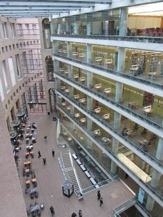Vancouver Public Library | British Columbia, Canada #coolest #libraries