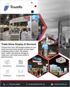 Triumfo Inc. is your one-stop solution for trade show exhibit.