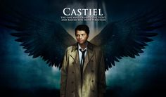 "Misha Collins as ""Castiel"" the angel in Supernatural"