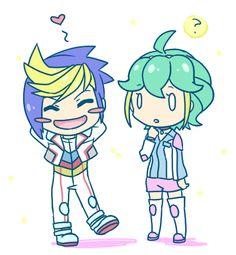 Yugo and Rin