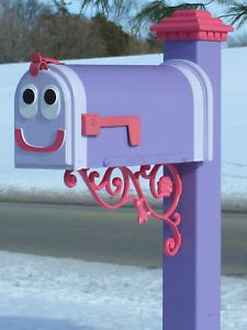 Blues Clues Real Custom Mailbox for Home Day Care Gift Funny Mailboxes, Home Mailboxes, Unique Mailboxes, Painted Mailboxes, Custom Mailboxes, Mailbox Makeover, Diy Mailbox, Mailbox Ideas, Blues Clues Mailbox