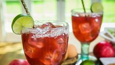 Pomegranate Margarita - perfect for Fall!