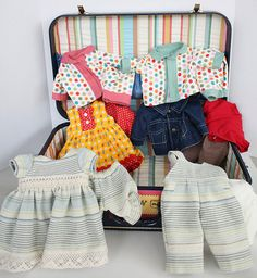 making american doll clothes
