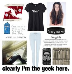 """""""The geek is in me"""" by agnes-kathryn ❤ liked on Polyvore featuring Converse, 7 For All Mankind, Camp, CTRL and Andrew Martin"""