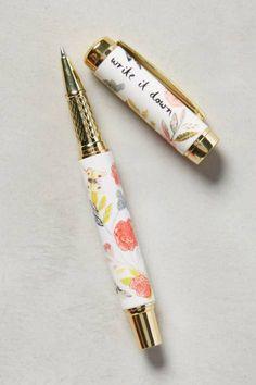 Climbing Rose Pen by Michelle Morin
