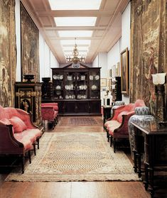 patrickhumphreys:The South Sketch Gallery at Chatsworth.Photo by Simon Upton. Belton House, Harewood House, Chatsworth House, French Armoire, English Interior, Ivy House, Classic House, Decoration, Country Decor