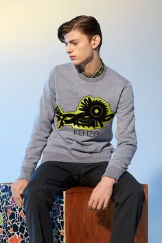 Kenzo Monster Tool Sweatshirt - Kenzo Fall Winter 2014 Men