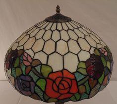 Rose Tiffany Lamp  16S0-24
