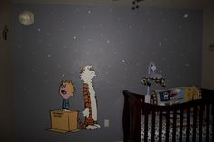 Calvin & Hobbes Nursery Murals - Daddy Types
