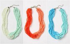 Delicatessen: Anthropologie Necklaces | Wedding Accessories