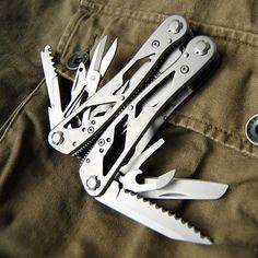 Professional Multi Tool Pliers Kits Hunting Camping Fishing Tools Plier Pocket Tool Survival