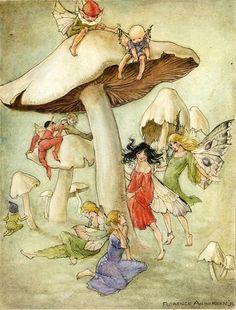Florence Mary Anderson (1874-1930) est une illustratrice anglaise connue également pour ses livres pour enfants. Elle a signé de plusieurs