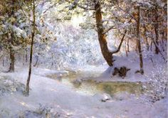 Walter Launt Palmer (American painter, 1854-1932) Snow Laden