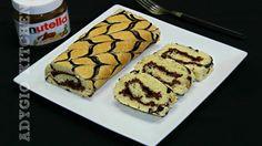 Rulada rapida cu nutella | Adygio Kitchen Nutella, Deserts, Rolls, Dessert Recipes, Food, Youtube, Kuchen, Buns, Essen