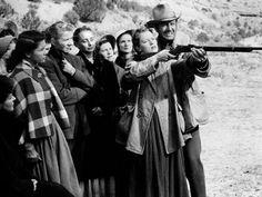 """Robert Taylor in """"Westward the Women"""" (1951)"""
