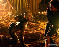 The Descent (2005) Nora Jane Noone and creature